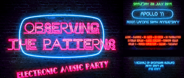 Electronic Music Party  20/07/19 18:00