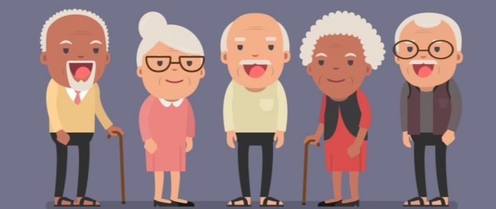 Seniors afternoon tea. Popoludniowe spotkanie seniorów
