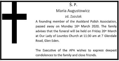 Pani Maria Augustowicz