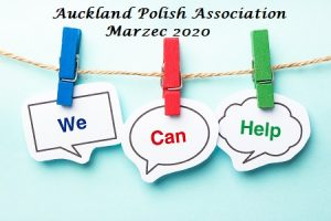 Auckland Polish Association - Marzec 2020